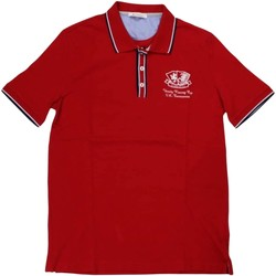 Abbigliamento Uomo Polo maniche corte Ferrante ATRMPN-29636 Rosso