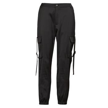 Abbigliamento Donna Pantalone Cargo Yurban  Nero