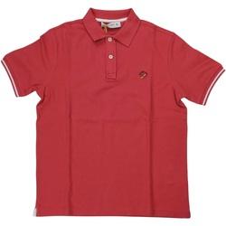 Abbigliamento Uomo Polo maniche corte Manuel Ritz ATRMPN-29640 Arancio