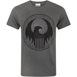 Abbigliamento Uomo T-shirt maniche corte Fantastic Beasts And Where To Fi  Carbone