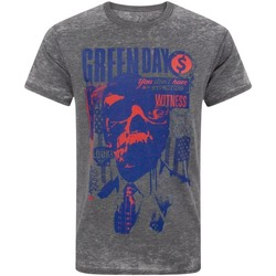 Abbigliamento Uomo T-shirt maniche corte Green Day  Carbone