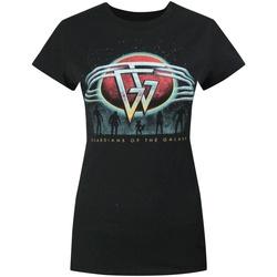 Abbigliamento Donna T-shirt maniche corte Guardians Of The Galaxy  Nero