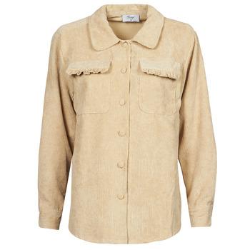 Abbigliamento Donna Giacche / Blazer Betty London PATISSONE Beige