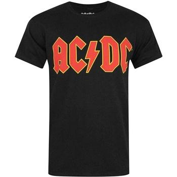 Abbigliamento Uomo T-shirt maniche corte Ac/dc  Nero