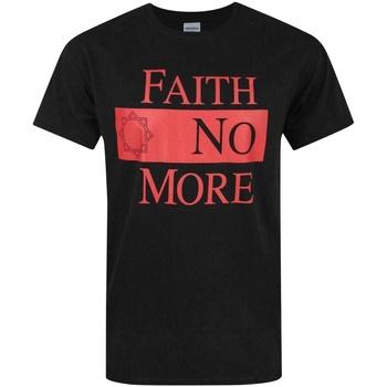 Abbigliamento Uomo T-shirt maniche corte Faith No More  Nero