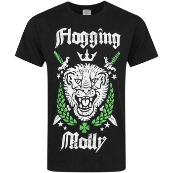 Abbigliamento Uomo T-shirt maniche corte Flogging Molly  Nero