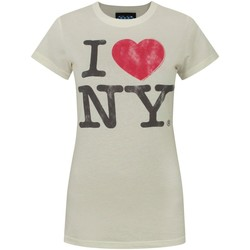 Abbigliamento Donna T-shirt maniche corte Junk Food  Bianco