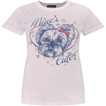 Abbigliamento Donna T-shirt maniche corte Junk Food  Rosso