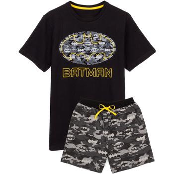 Abbigliamento Uomo Pigiami / camicie da notte Dessins Animés  Nero/Grigio