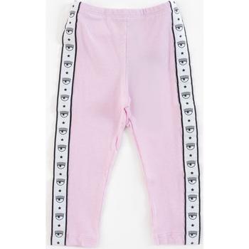 Abbigliamento Bambina Pantaloni da tuta Chiara Ferragni Leggings  Rosa 518402-8201 Rosa