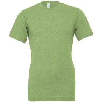Abbigliamento T-shirt maniche corte Bella + Canvas CVC3001 Verde Screziato