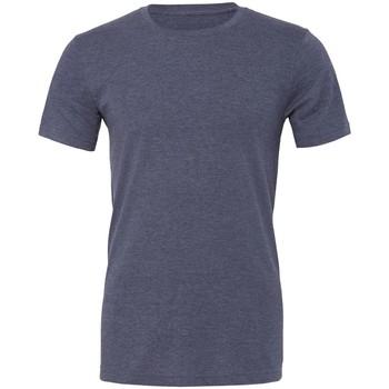 Abbigliamento T-shirt maniche corte Bella + Canvas CVC3001 Blu Navy Screziato