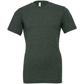 Abbigliamento T-shirt maniche corte Bella + Canvas CVC3001 Verde Foresta Screziato