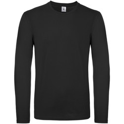 Abbigliamento Uomo T-shirts a maniche lunghe B And C TU05T Nero