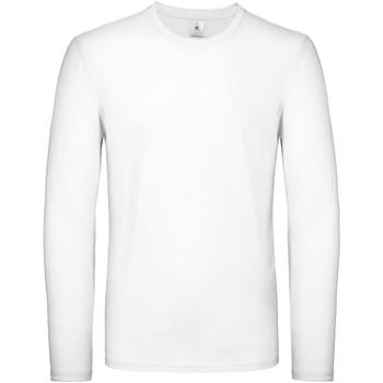 Abbigliamento Uomo T-shirts a maniche lunghe B And C TU05T Bianco