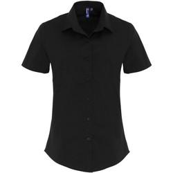 Abbigliamento Donna Camicie Premier PR346 Nero