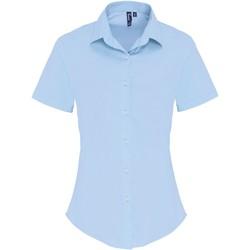 Abbigliamento Donna Camicie Premier PR346 Blu Pallido