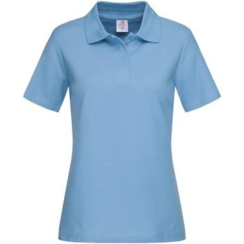 Abbigliamento Donna T-shirt & Polo Stedman  Azzurro