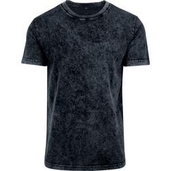 Abbigliamento Uomo T-shirt maniche corte Build Your Brand BY070 Grigio scuro/Bianco