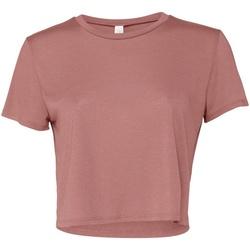 Abbigliamento Donna T-shirt maniche corte Bella + Canvas BE8882 Malva