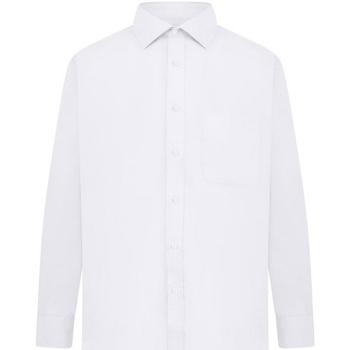 Abbigliamento Uomo Camicie maniche lunghe Absolute Apparel  Bianco
