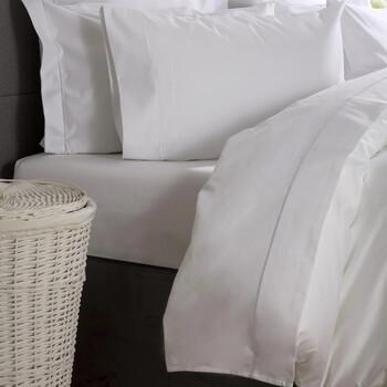Casa Lenzuolo con angoli Belledorm Kingsize Bianco