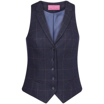 Abbigliamento Donna Gilet da completo Brook Taverner BK521 Blu