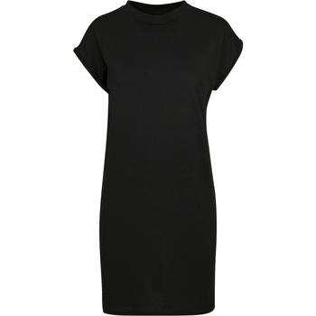 Abbigliamento Donna Abiti corti Build Your Brand BY101 Nero