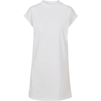 Abbigliamento Donna Abiti corti Build Your Brand BY101 Bianco