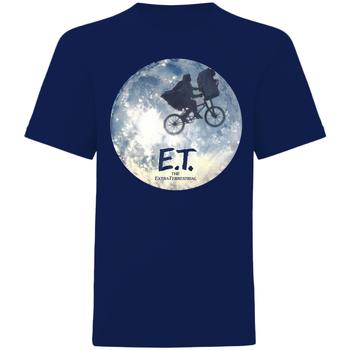 Abbigliamento T-shirt maniche corte E.t. The Extra-Terrestrial  Blu