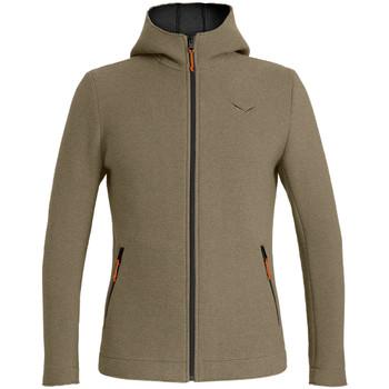 Abbigliamento Uomo Felpe in pile Salewa Sarner 2L Wo M Fz Hdy 26162-7971 brown
