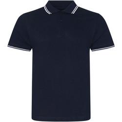 Abbigliamento Uomo Polo maniche corte Awdis JP003 Blu navy/Bianco