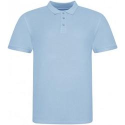 Abbigliamento Uomo Polo maniche corte Awdis JP100 Azzurro cielo