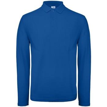 Abbigliamento Uomo Polo maniche lunghe B And C BA290 Blu reale