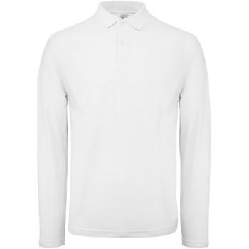 Abbigliamento Uomo Polo maniche lunghe B And C BA290 Bianco