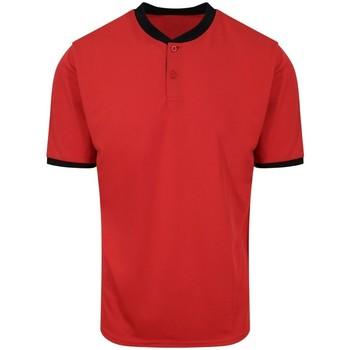 Abbigliamento Uomo Polo maniche corte Awdis JC044 Rosso/Nero