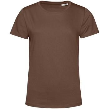 Abbigliamento Donna T-shirt maniche corte B&c TW02B Caffè