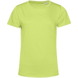 Abbigliamento Donna T-shirt maniche corte B&c TW02B Verde Lime