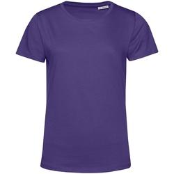 Abbigliamento Donna T-shirt maniche corte B&c TW02B Viola radioso