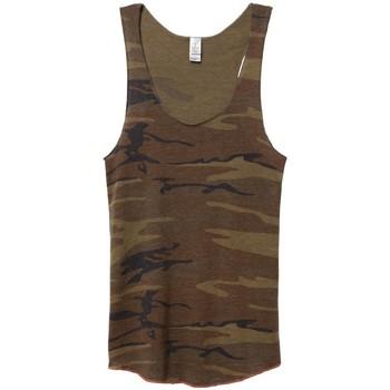 Abbigliamento Donna Top / T-shirt senza maniche Alternative Apparel AT003 Mimetico