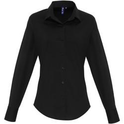 Abbigliamento Donna Camicie Premier PR344 Nero