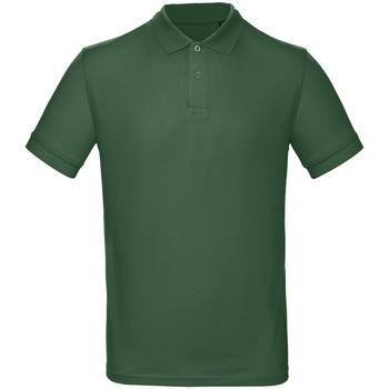Abbigliamento Uomo Polo maniche corte B And C PM430 Verde bottiglia
