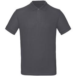 Abbigliamento Uomo Polo maniche corte B And C PM430 Grigio scuro
