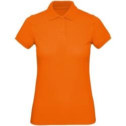 Abbigliamento Uomo Polo maniche corte B And C PM430 Arancio