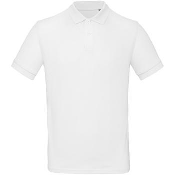 Abbigliamento Uomo Polo maniche corte B And C PM430 Bianco