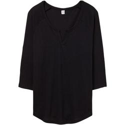 Abbigliamento Donna T-shirt & Polo Alternative Apparel AT008 Nero