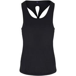 Abbigliamento Donna Top / T-shirt senza maniche Tridri TR042 Nero