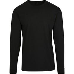 Abbigliamento Uomo Felpe Build Your Brand BY091 Nero