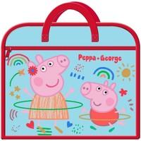 Borse Unisex bambino Cartelle Peppa Pig  Rosso