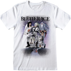 Abbigliamento T-shirt maniche corte Beetlejuice  Bianco